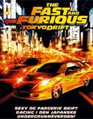 DVD FILM  FAST AND THE FURIOUS 3 TOKYO DRIFT