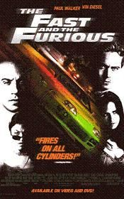 The fast and the furious 1 DVD-film