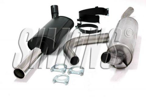 """EKSOSANLEGG 2,5"""" SPORT 760 TURBO og V6 M/MULTILINK HALVSATS"""