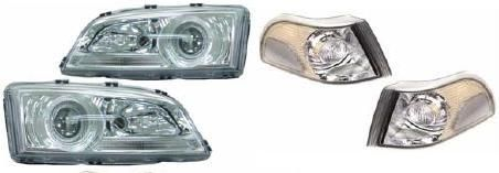LAMPESATS STYLING HOVEDLAMPER OG BLINK C/S/V70-97-2000 CROM