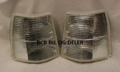 TILBUDSPAKKE BLINK/PARKLAMPE 740-90-92 GL/GLE HELHVIT