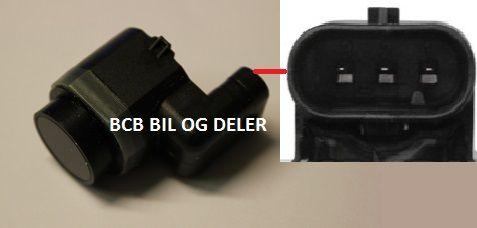Parkeringssensor til Volvo: C30,S60,S80,V40/XC,V60,V70,XC60,XC70