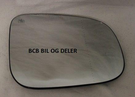 SPEILGLASS HØYRE UTEN VARME TIL VOLVO S60,S80,V70