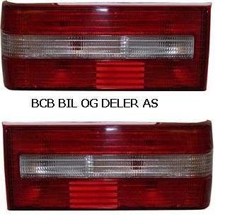 BAKLAMPER 740 SEDAN(4D) 90-92 TYPEN MED HVIT BLINK