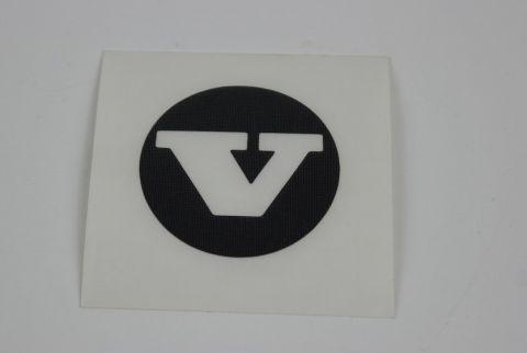 """Dekal/merke til bruk på senterkopp 5,5"""" stålfelg"""