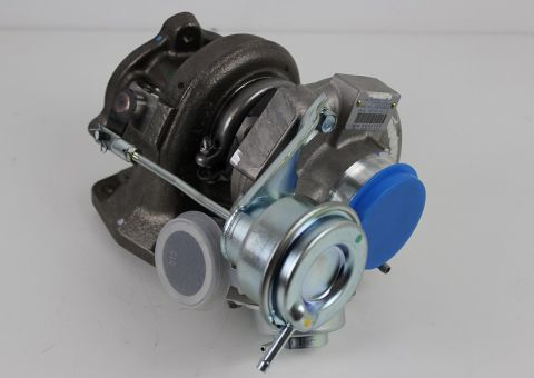 Turbo 16T orgiginal type TD04 16T Turbo med vinklet avgass
