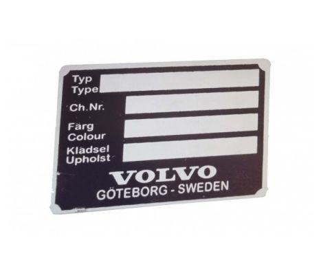 ID-plate PV/Amazon/P1800 alu.