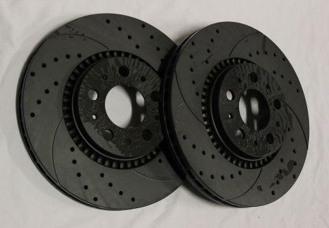 BREMSESKIVE FORAN SLISSA/BOR Graphite S60,S80,V70-1999>305mm