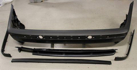 STØTFANGERPLAST BAK BMW E36 (M3)
