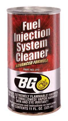 BENSINSYSTEMRENS BG 210 FUEL INJECTION SYSTEM CLEANER 325ML