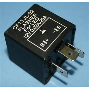 X-D LIGHT RELAY 3 PIN CF13 FOR LED AS INDECATER