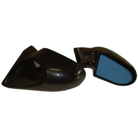 SPORTSMIRRORHEAD SP DESIGN WITHOUT INDICATOR BLACK MANUAL- PAIR