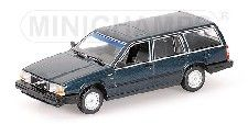 MODELLBIL 740 STV DARK GREEN  MINICHAMP 1:43