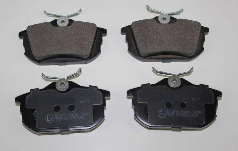 BREMSEKLOSSER BAK VOLVO S40/V40 -96>04 for 2 hjul 30850978