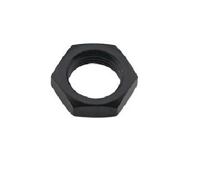 AN#10 BULKHEAD NUT BLACK