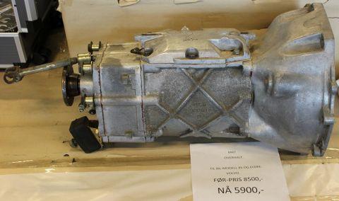 GEARKASSE M47 M/SPEEDOMETER UTAK OVERHALT