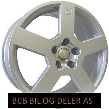 FELG 7,5X17 5X108 CB65.1 ET20 =Volvo 240,740,940 Sølvgrå