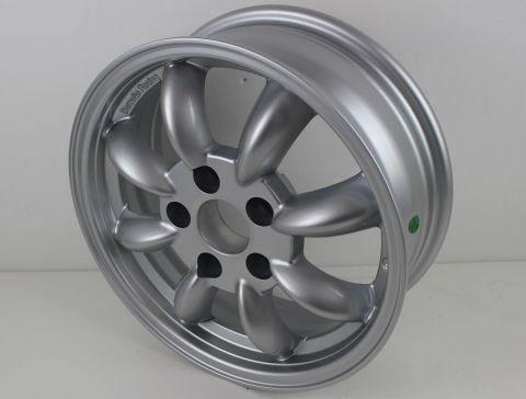 Felg 5,5x15 Classic Rally Wheels sølv 5x108  ET18 Tilbud