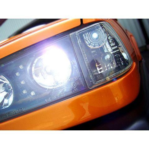 XENON KONVERTERINGSSATS 6000K TIL 2 H3 LAMPER