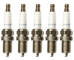 TENNPLUGGSETT FLESTE 5SYL VOLVO 850,S/C/V70,S60,S80 uten turbo