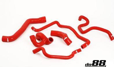 Opel Calibra Turbo 4WD C20LET røde kjøleslanger