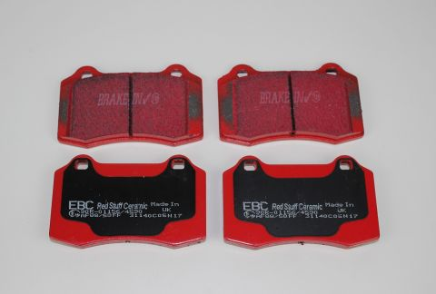 Bremsekloss sats bak S60R og V70R  2003-2007 EBC Redstuff