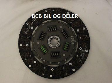 CLUTCHLAMMEL ORGANISK 228MM M/10SPLINS BLA.B30/M400,GETRAG