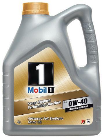 OLJE MOBIL 1 FS 0W-40 4L