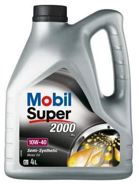 OLJE MOBIL SUPER 2000 10W-40 MOTOROLJE 4 LITER