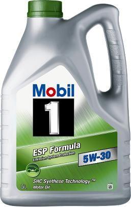 OLJE MOBIL 1 ESP FORMULA 5W-30 SYNTETISK MOTOROLJE 4LITER
