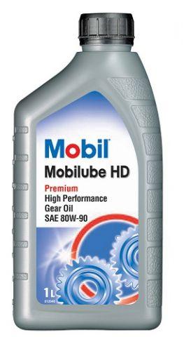 OLJE Mobilube HD 80W-90  Gear og Diff Olje1L  GL5 Mobil