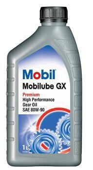 OLJE MOBIL MOBILUBE GX SAE80W90 GEAR/DIFF OLJE 1LITER