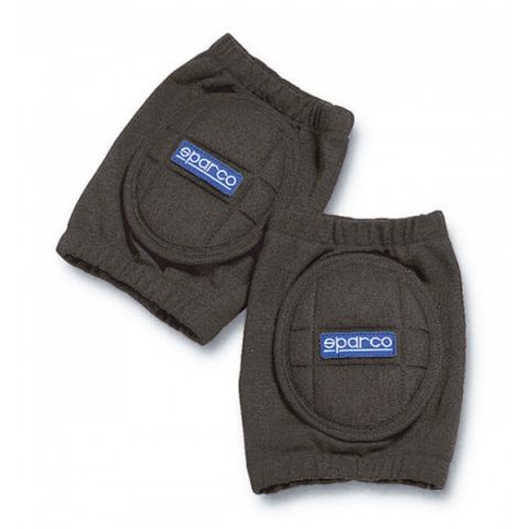 PAIR OF ELBOW-PADS IN NOMEX BLACK FIA HOMOLOGATED FIREPROOF