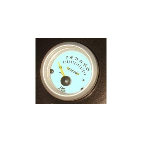 R-PERFORMANCE 52MM OILPRESSUREGAUGE BLUE ELECTROLIGHT WITH SENDERKIT