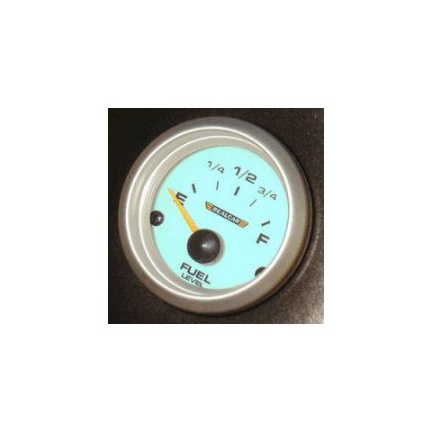 R-PERFORMANCE 52MM FUELLEVEL 0-90 OHMS BLUE ELECTROLIGHT NO SENDER