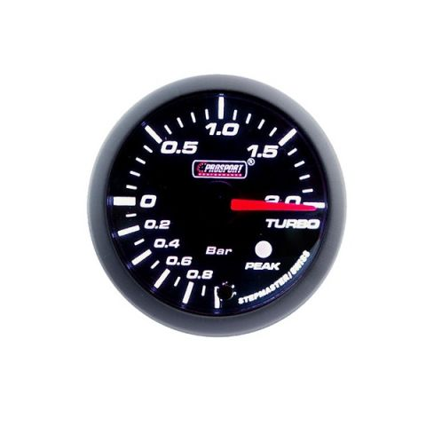 PROSPORT-S 60MM ELECTRONIC BOOST GAUGE WITH SENDER PEAK/WARNING 20BAR