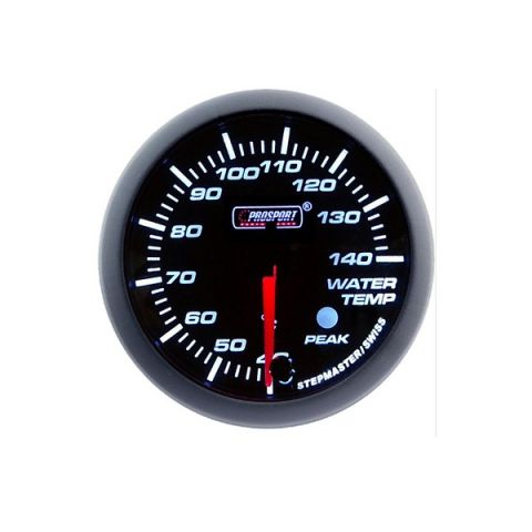 PROSPORT-S 60 MM ELECTRONIC WATERTEMP GAUGE WITH SENDER PEAK/WARNING