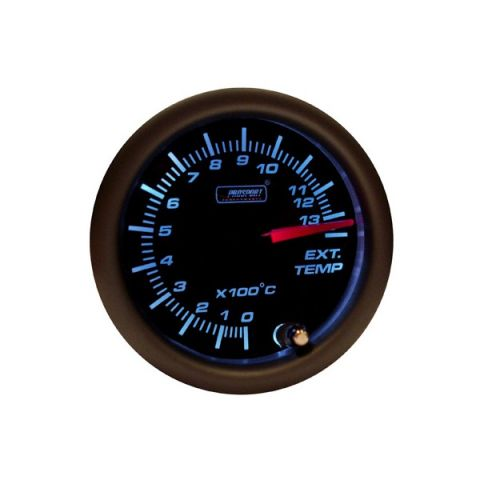 PROSPORT-M 52MM EXHAUSTTEMPGAUGE SMOKE 7-COLOR GAUGE