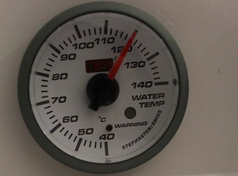 INSTRUMENT AUTOGAUGE VANN-TEMP 52MM.