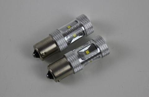 Lyspære ryggelys LED 30W effekt,6000K 720 Lumen,  PAR