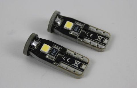 Lyspære LED for bla. parklys S80-06>>/ V70-08-14 2pakk T10