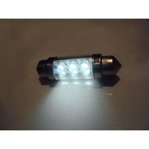 X-D LIGHT DOMELIGHT 38MM 6-LED WHITE - PAIR