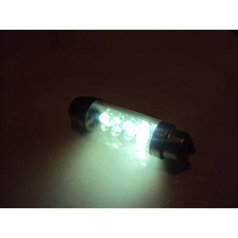 X-D LIGHT DOMELIGHT 44MM 8-LED WHITE - PAIR