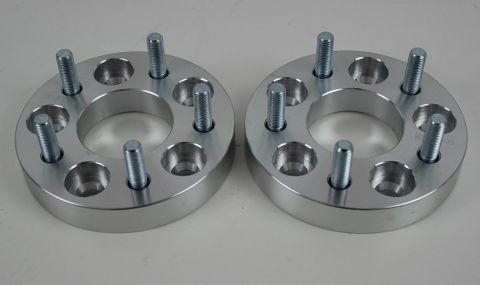 SET OF TWO 25MM VOLVO WHEEL SPACERS 5/108 CENT 651 M12x150 152MM DIA