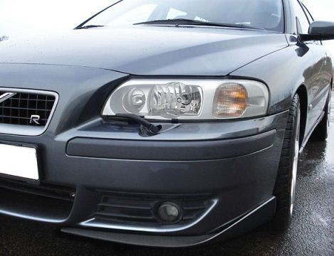 STYLING CORNERSPLITTERS FOR R-FRONT VOLVO S60/V70 CARBON